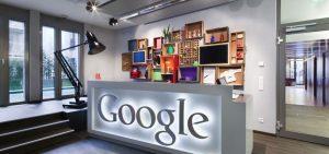 دفتر کار گوگل مدیر منابع انسانی