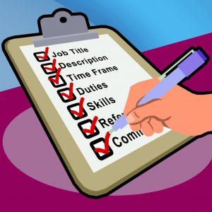 شرح وظایف یا شناسنامه شغل